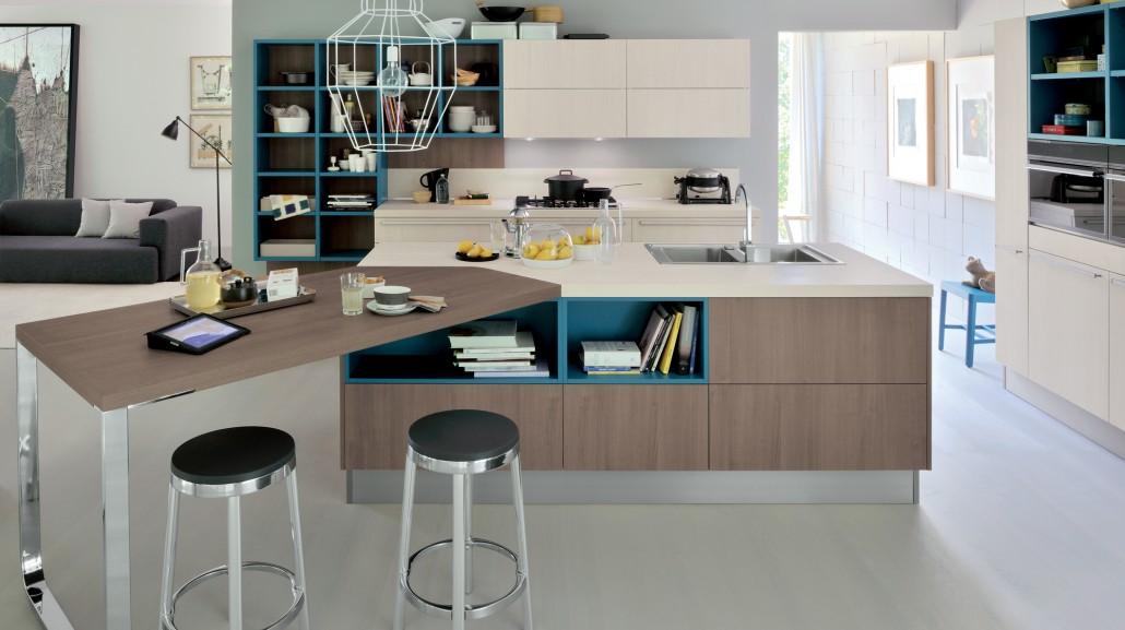 Veneta cucine avant - Cucine open space con isola ...
