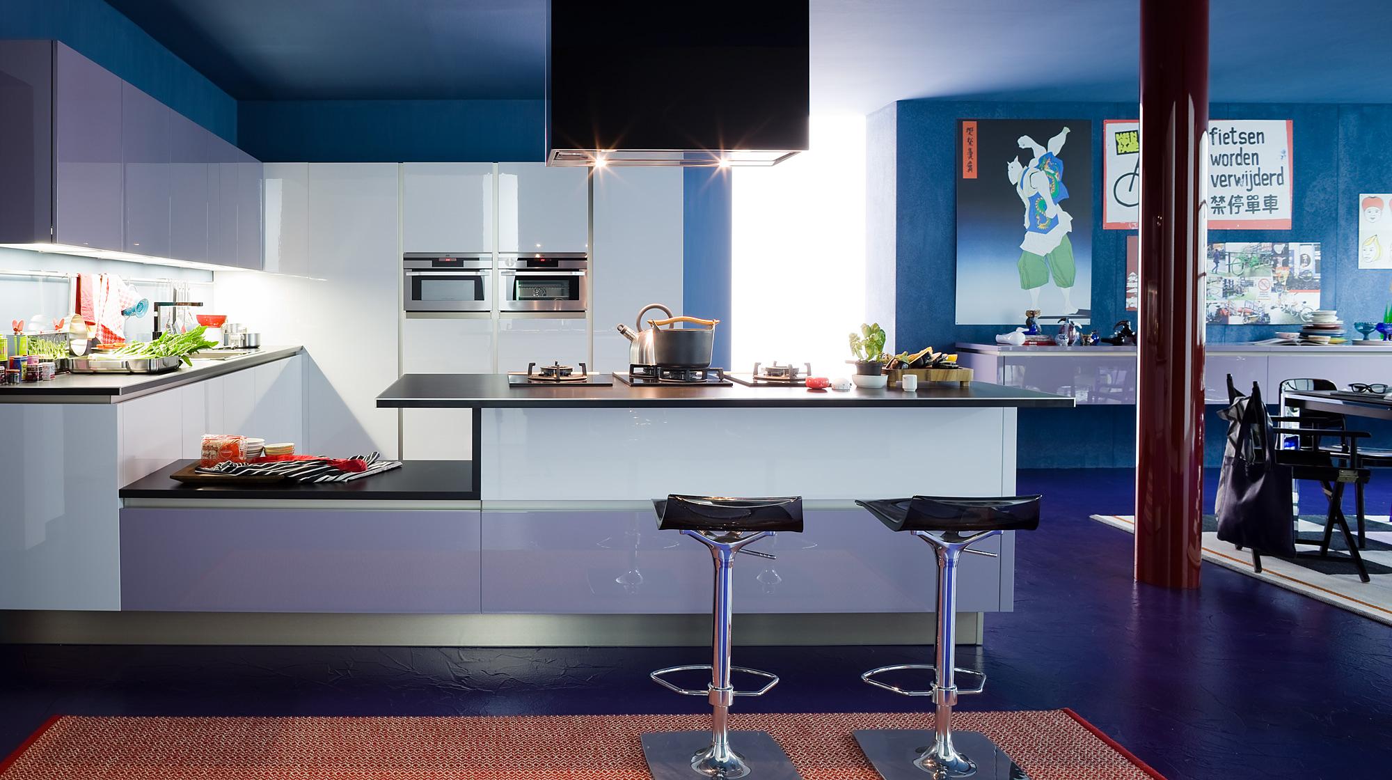 Μοντερνα επιπλα κουζινας VENETA CUCINE, VENETA AVANT μοντελο oyster