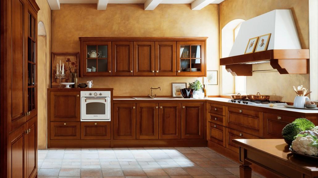 Κλασικα επιπλα κουζινας VENETA CUCINE, VENETA AVANT μοντελο roccafiorita