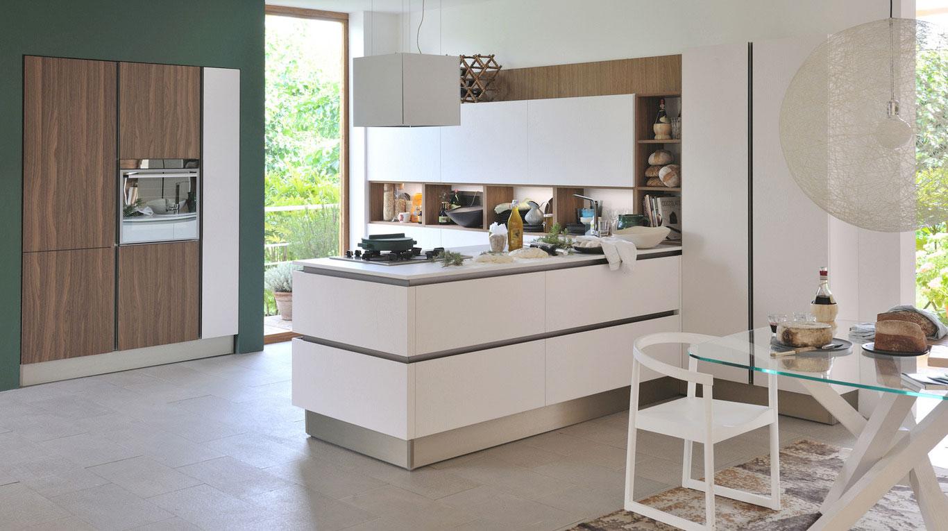 Μοντερνα επιπλα κουζινας VENETA CUCINE, VENETA AVANT μοντελο OYSTER PRO