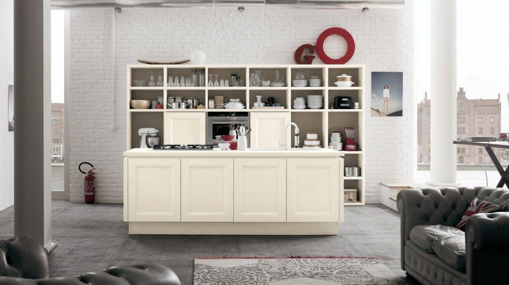 Κλασικα επιπλα κουζινας VENETA CUCINE, VENETA AVANT μοντελο OYSTER VINTAGE