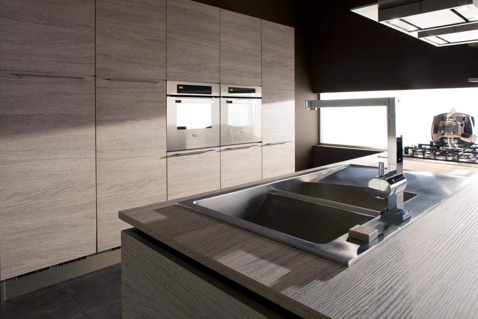 επιπλα κουζινας μοντερνα και κλασικα VENETA CUCINE, VENETA AVANT μοντελο OYSTER DECORATIVO