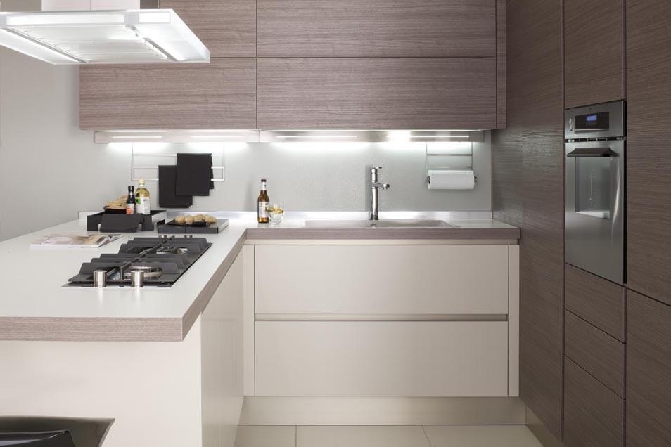 Μοντερνα επιπλα κουζινας VENETA CUCINE, VENETA AVANT μοντελο OYSTER DECORATIVO