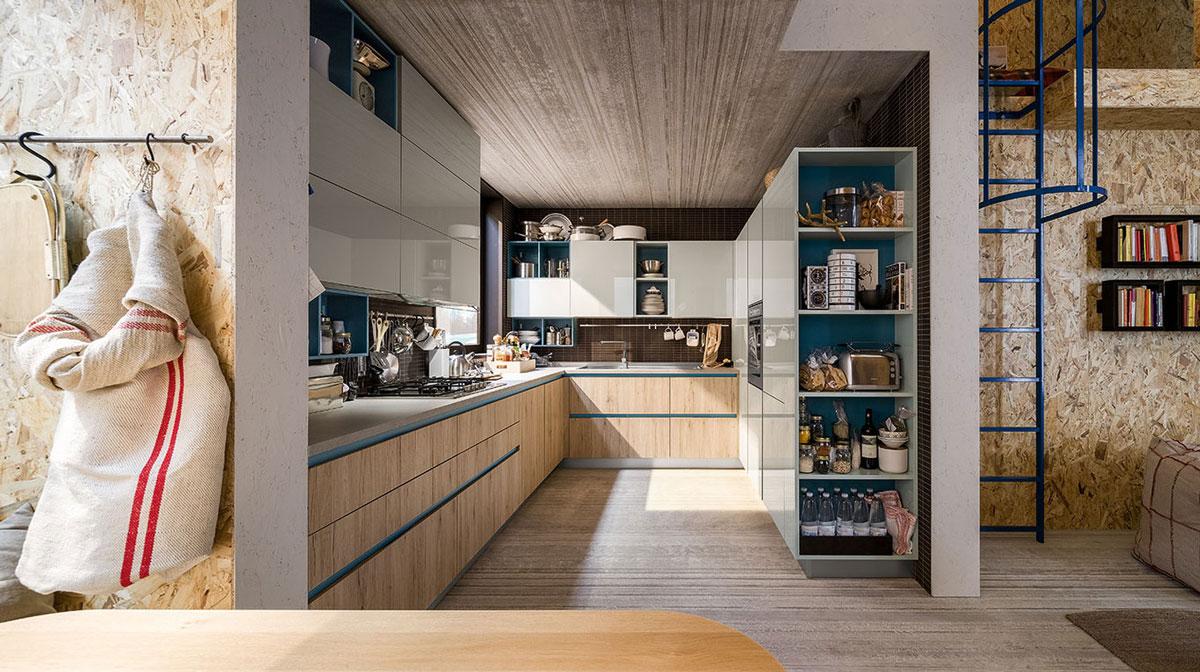 Μοντερνα επιπλα κουζινας VENETA CUCINE, VENETA AVANT μοντελο START GO