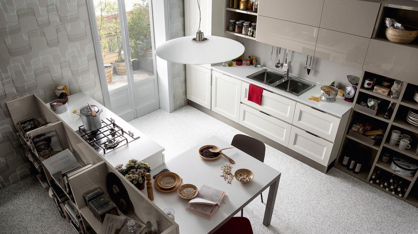 Κλασικα επιπλα κουζινας VENETA CUCINE, VENETA AVANT μοντελο TABLET GO