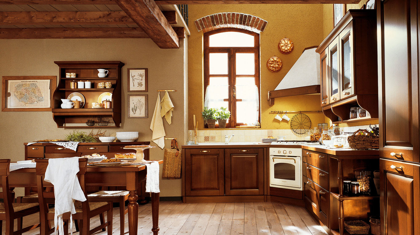 Κλασικα επιπλα κουζινας VENETA CUCINE, VENETA AVANT μοντελο VERDIANA