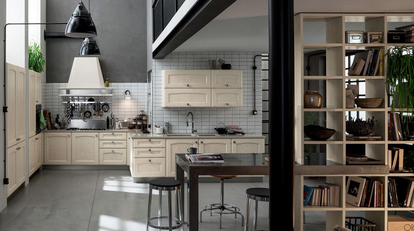 Κλασικα επιπλα κουζινας VENETA CUCINE, VENETA AVANT μοντελο VILLA D'ESTE