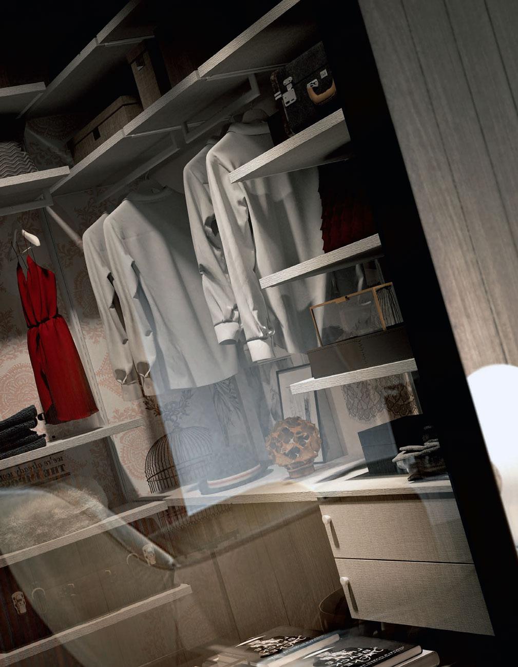 Ντουλαπες υπνοδωματιου VENETA AVANT. Ντουλάπες ανοιγομενες και συρομενες μοντελο naked