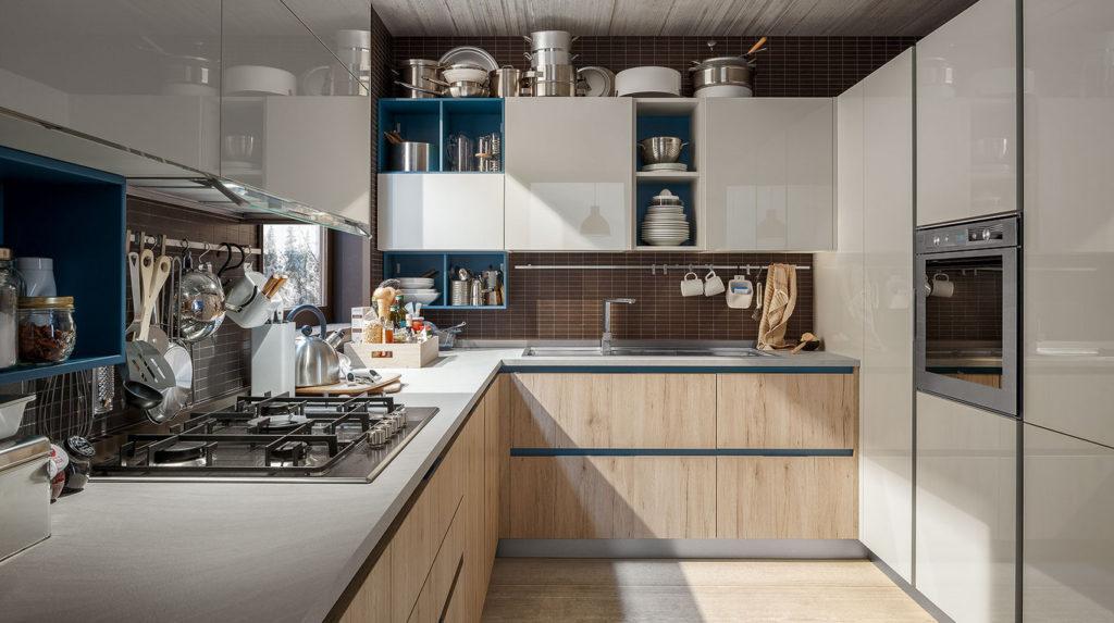 Μοντερνα επιπλα κουζινας VENETA CUCINE, VENETA AVANT μοντελο START-GO-2400