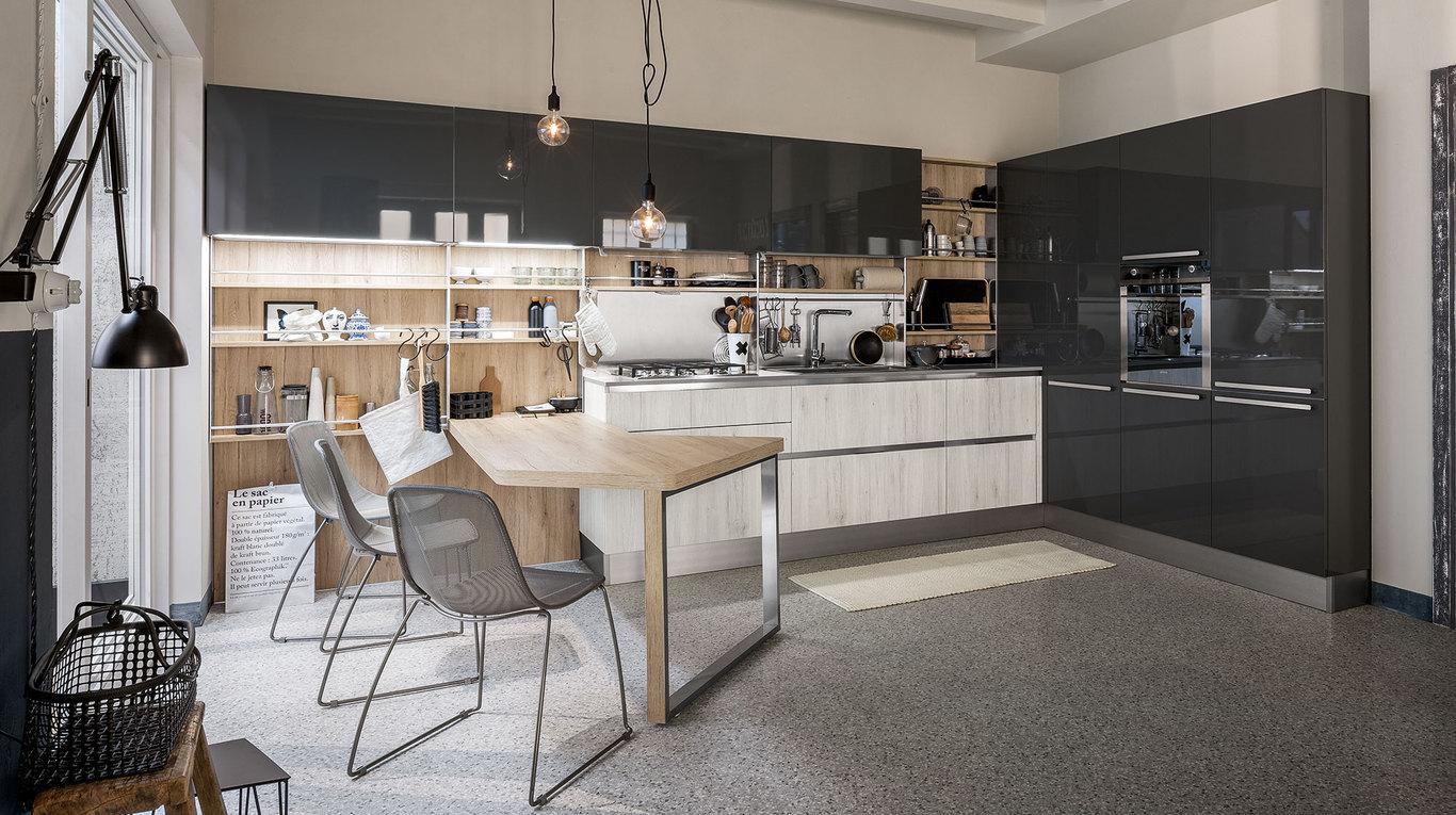 Μοντερνα επιπλα κουζινας VENETA CUCINE, VENETA AVANT μοντελο START ...