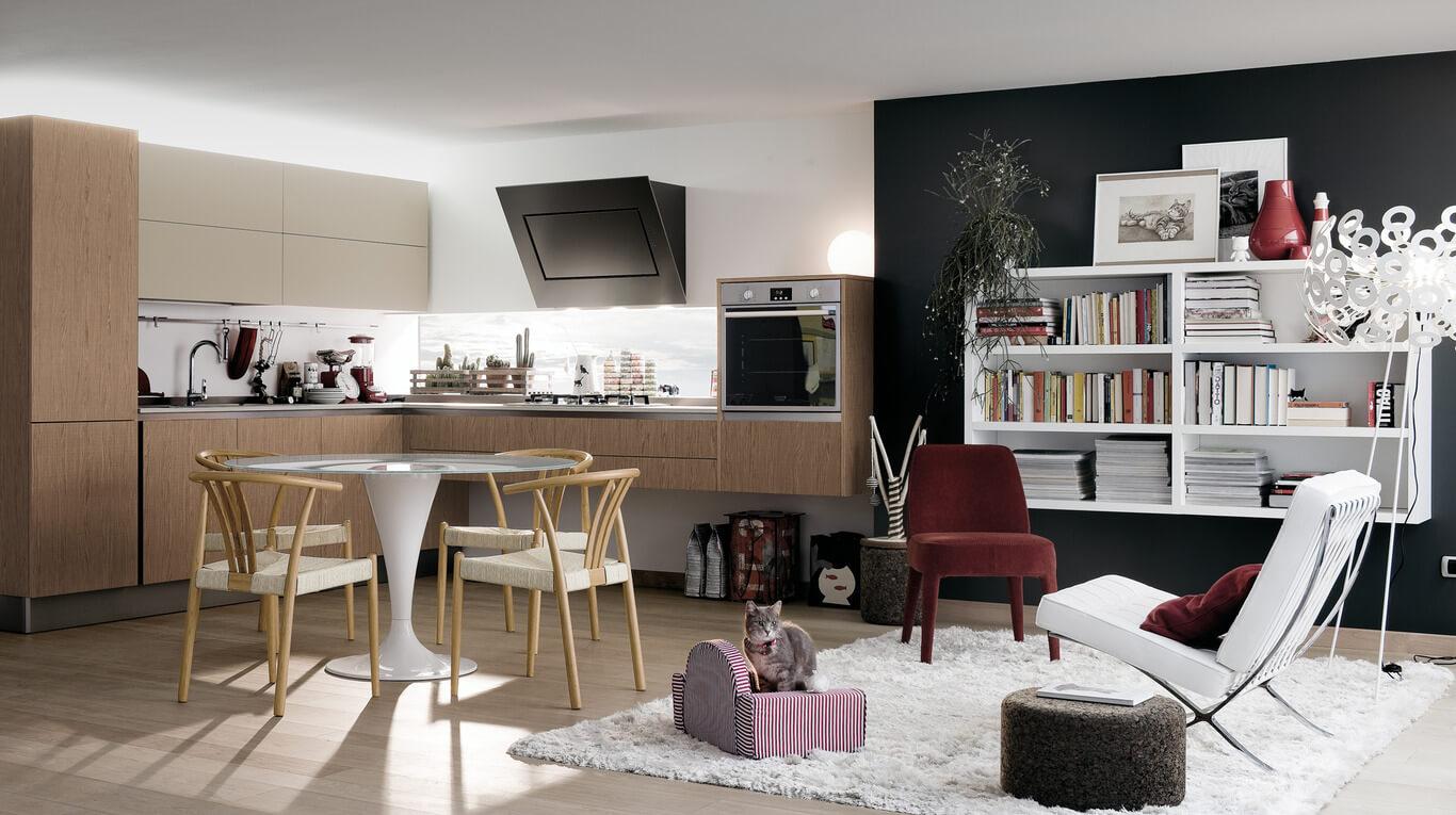 Μοντέρνα επιπλα κουζινας απο την Veneta Cucine-Veneta Avant μοντέλο EXTRA GO