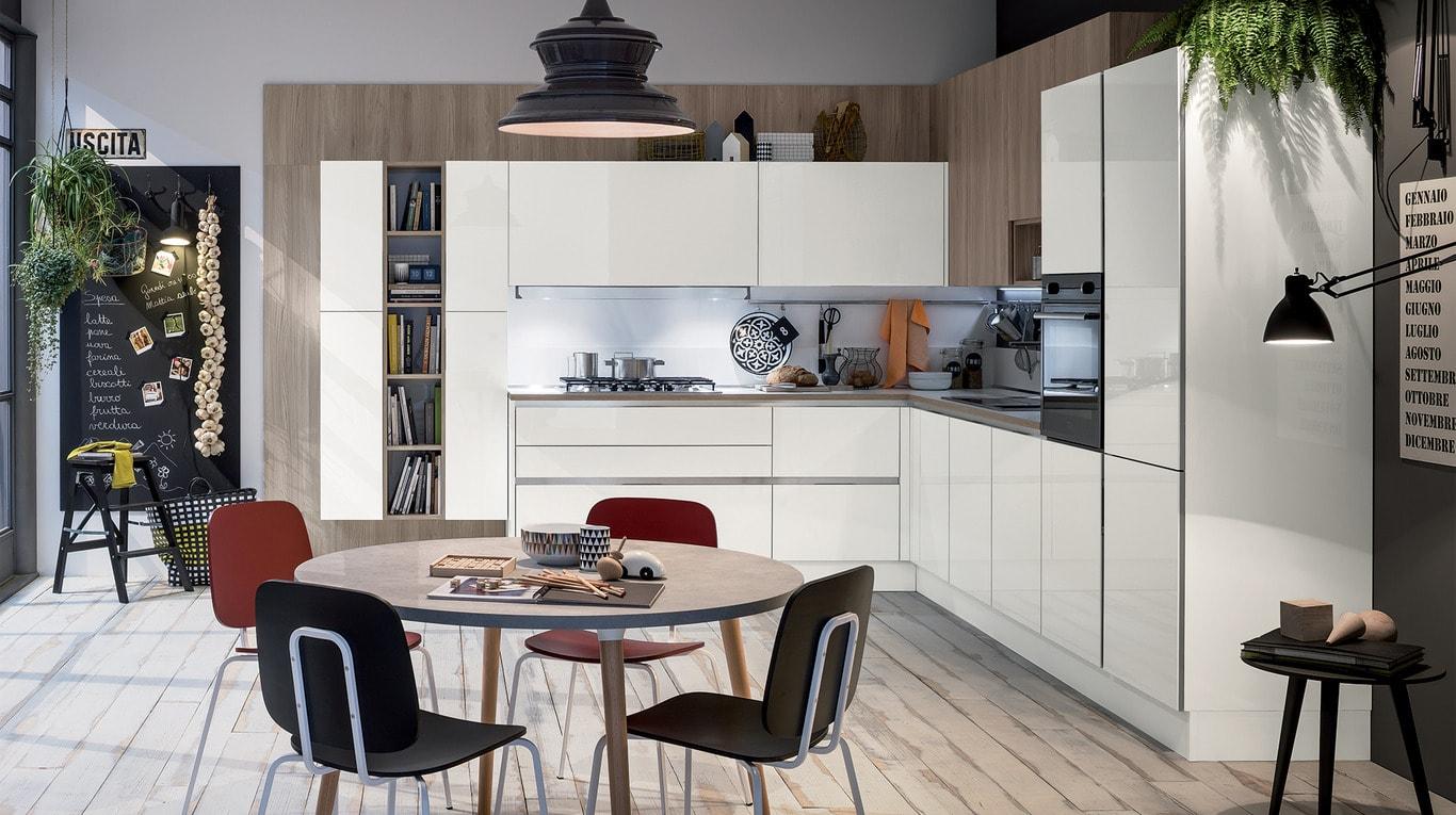 Μοντέρνα επιπλα κουζινας απο την Veneta Cucine-Veneta Avant μοντέλο LIKE GO