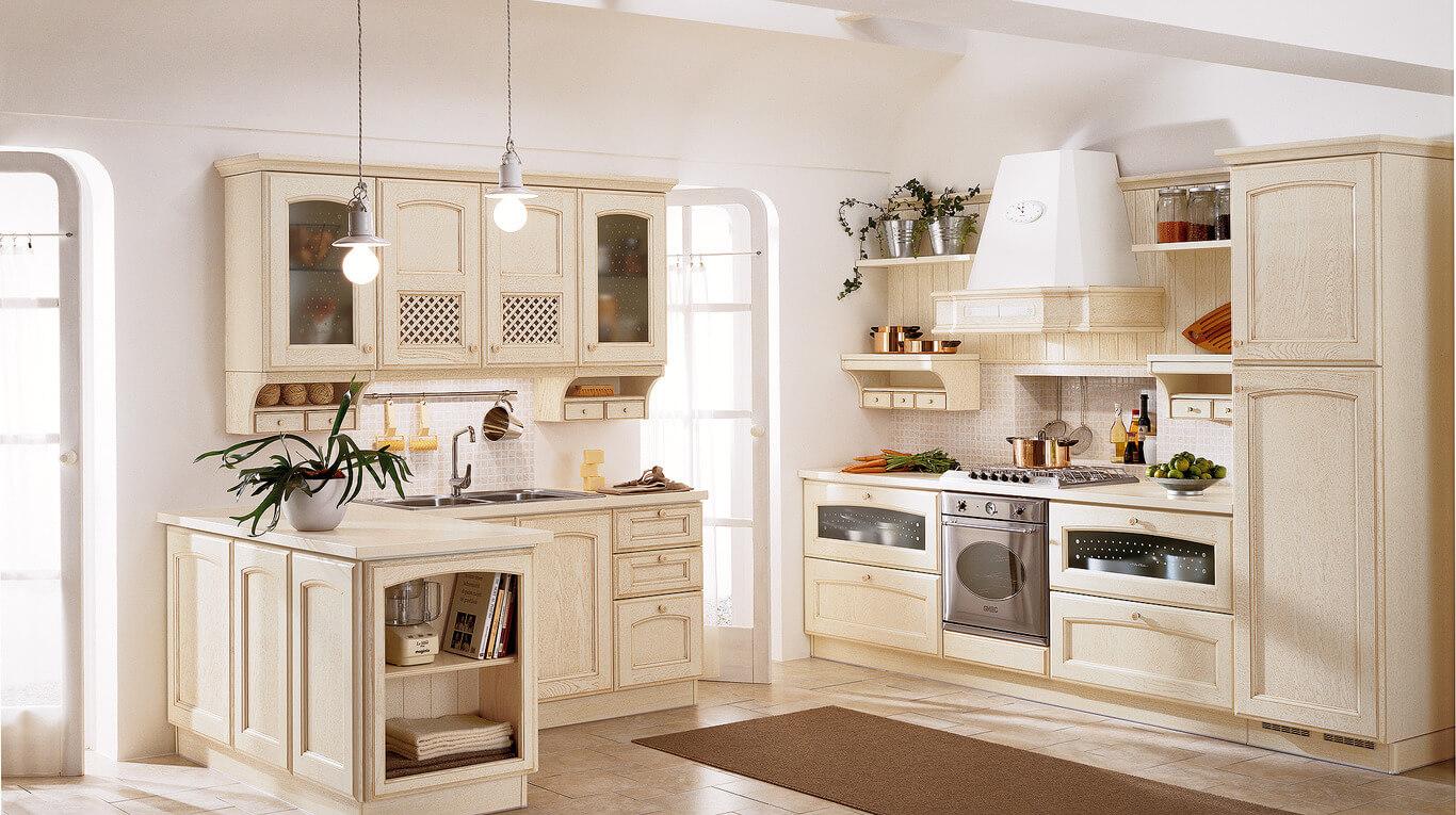 Κλασικά επιπλα κουζινας απο την Veneta Cucine-Veneta Avant μοντέλο Villa d'este