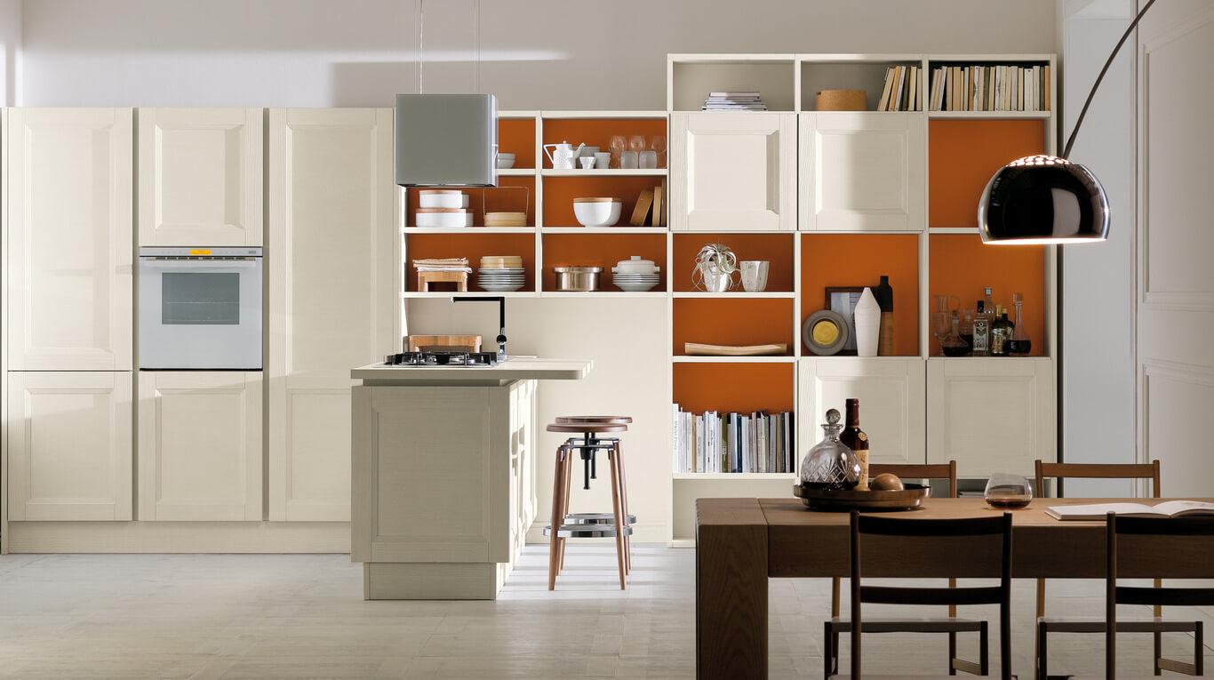 Κλασικά επιπλα κουζινας απο την Veneta Cucine-Veneta Avant μοντέλο vintage