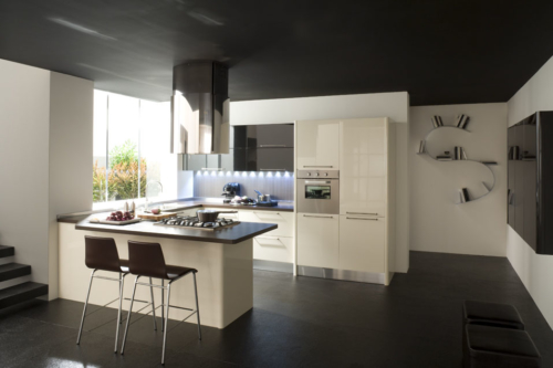Μοντέρνα επιπλα κουζινας απο την Veneta Cucine-Veneta Avant μοντέλο CARRERA