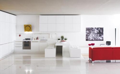 Μοντερνα επιπλα κουζινας VENETA CUCINE, VENETA AVANT μοντελο ethica