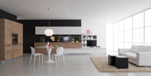 Μοντερνα επιπλα κουζινας VENETA CUCINE, VENETA AVANT μοντελο ETHICA DECORATIVO