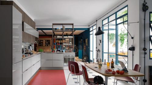 Μοντέρνα επιπλα κουζινας απο την Veneta Cucine-Veneta Avant μοντέλο CARRERA GO