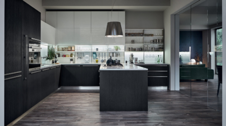 Μοντέρνα επιπλα κουζινας απο την Veneta Cucine-Veneta Avant μοντέλο EXTRA