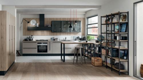 Μοντέρνα επιπλα κουζινας απο την Veneta Cucine-Veneta Avant μοντέλο START TIME