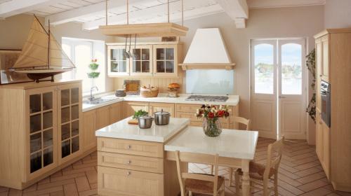 Κλασικά επιπλα κουζινας απο την Veneta Cucine-Veneta Avant μοντέλο newport