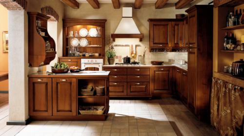 Κλασικά επιπλα κουζινας απο την Veneta Cucine-Veneta Avant μοντέλο Verdiana